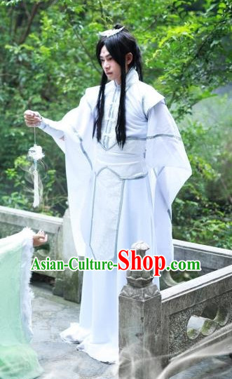 Chinese Traditional Hanfu Prince Cosplay Costume Chinese Cosplay Hanfu Halloween Costume Party Costume Fancy Dress