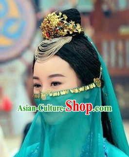 Chinese Traditional Wedding Ceremony Hair Accessories Hair Jewelry