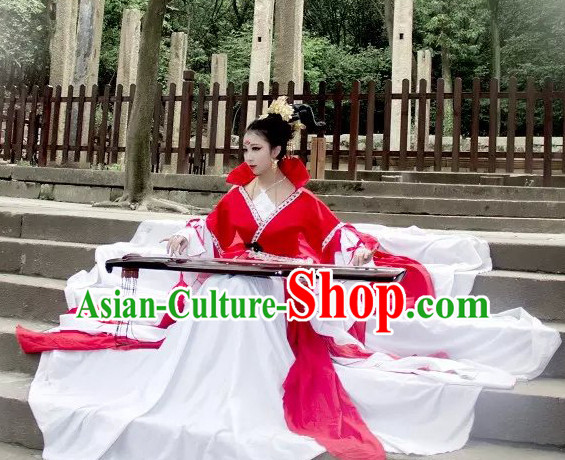 Ancient Chinese Fairy Costumes Complete Set for Women