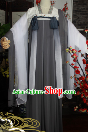 Chinese Themed Clothing Traditional Chinese Fairy Clothes Hanfu National Costumes for Women