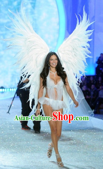 Unique Design Giant Angel Wings Model Stage Costumes Theater Costumes Professional Theater Costume for Women