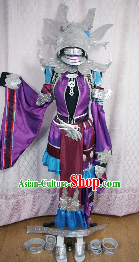 China High Quality Superheroine Armor Costume Cosplay Taoist Archer Costume Avatar Costumes Wonderflex Knight Armorsuit Leather Metal Fantasy Armoury Complete Set for Wo
