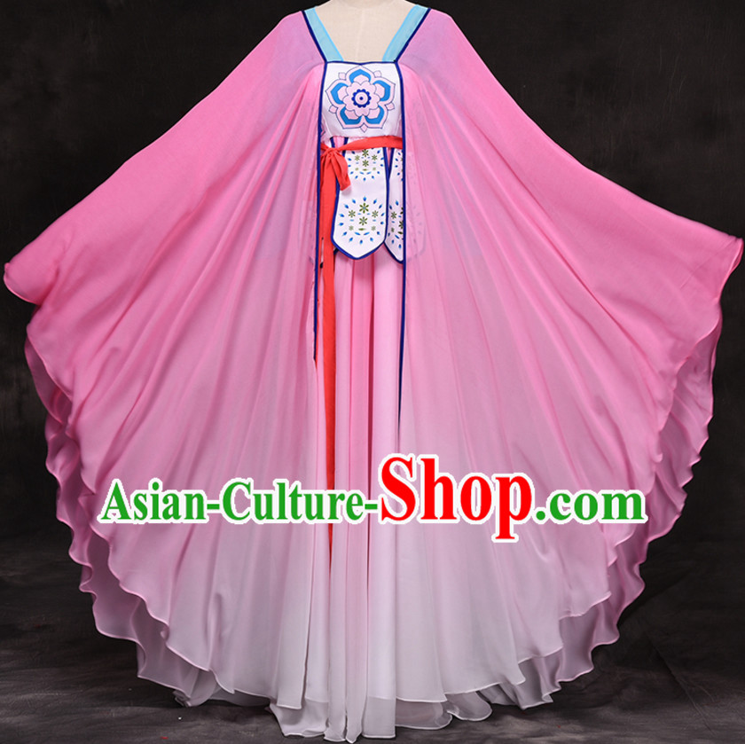 Traditional Chinese Stage Dancing Costume Chinese Classical Dance Costumes Complete Set for Women