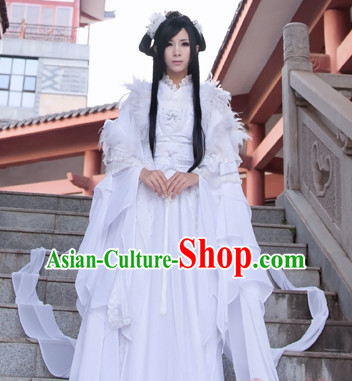 Ancient Chinese Princess Dresses Hanzhuang Empress Han Fu Queen Han Clothing Traditional Chinese Dress Hanfu National Costume Complete Set for Women or Girls