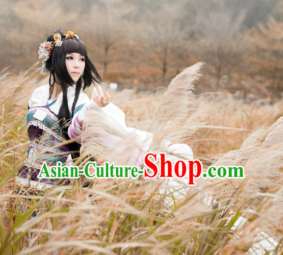Ancient Chinese Dresses Hanzhuang Han Fu Han Clothing Traditional Chinese Dress Hanfu National Costume Complete Set for Women