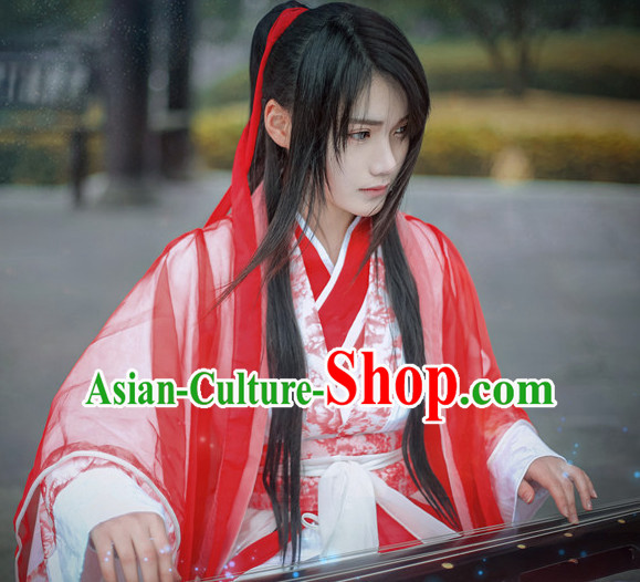 Ancient Chinese Knight Dresses Hanzhuang Han Fu Han Clothing Traditional Chinese Dress Hanfu National Costume Complete Set for Men