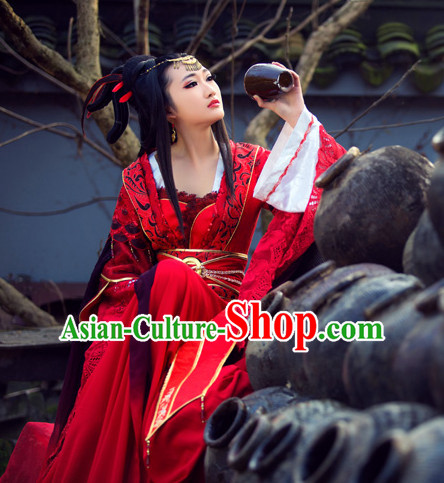 Ancient China Princess Clothes Traditional Costumes High Quality Chinese National Costume Complete Set for Women