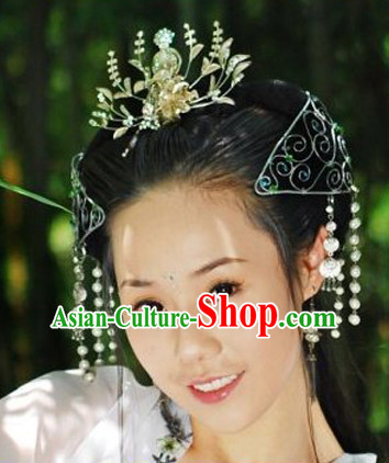 Handmade Chinese Princess Hair Decorations Headpieces for Women