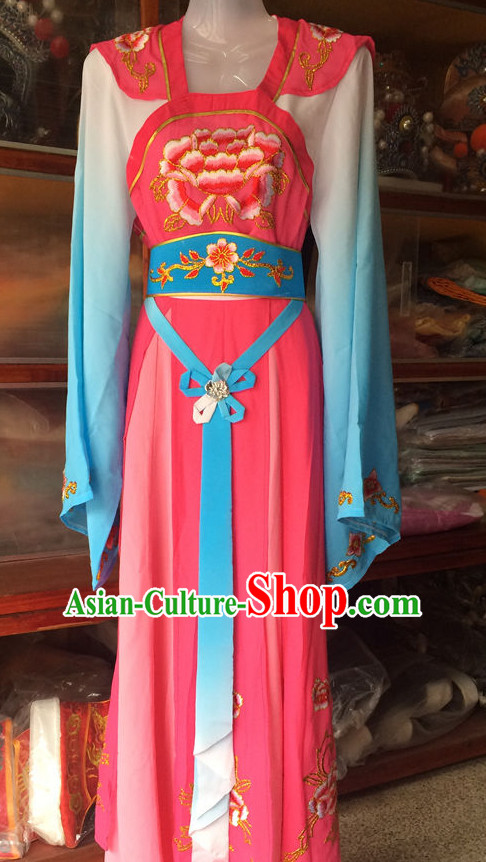 China Beijing Opera Women Princess Costume Embroidered Robe Stage Costumes Complete Set