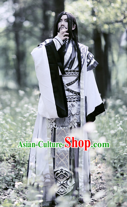 Chinese Emperor Hanfu Robe Prince Clothing Handmade Bjd Dress Opera Costume Drama Costumes Complete Set