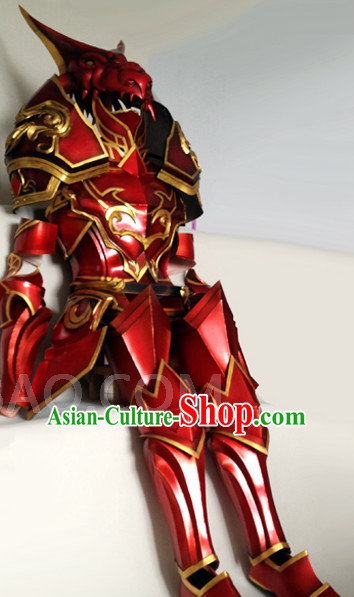 Special Ancient Chinese Armor Costumes General Body Costume Dresses Complete Set