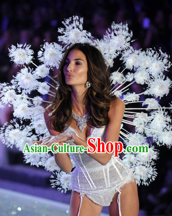 Parade Quality Peacock Feather Dance Costumes Popular Ostrich Feathers Fancy Bird Costume Stage Costumes Angel Wings Costume Complete Set