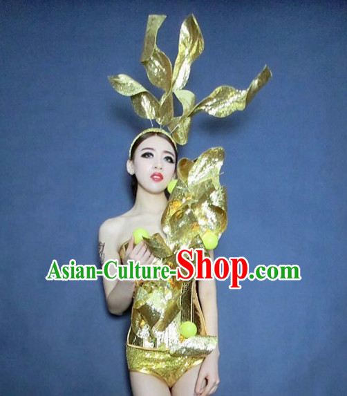 Parade Quality Feather Dance Costumes Popular Ostrich Feathers Fancy Costume Costume Angel Wings Costume Complete Set