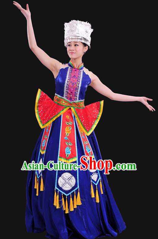 Minority Women Dresses Ethnic Clothing Minority Dance Costume Minority Dress