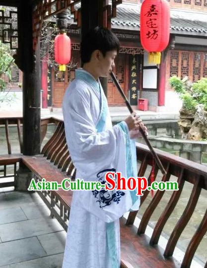 Traditional Chinese Ancient Han Dynasty Dragon Robe Clothing Imperial Dresses Beijing Classical Chinese Clothing for Men