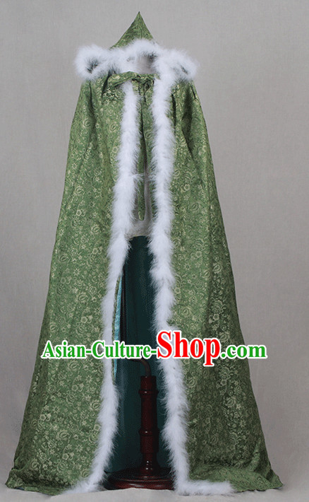 Traditional Chinese Ancient Mantle Clothing Imperial Cape Dresses Beijing Classical Chinese Clothing for Women