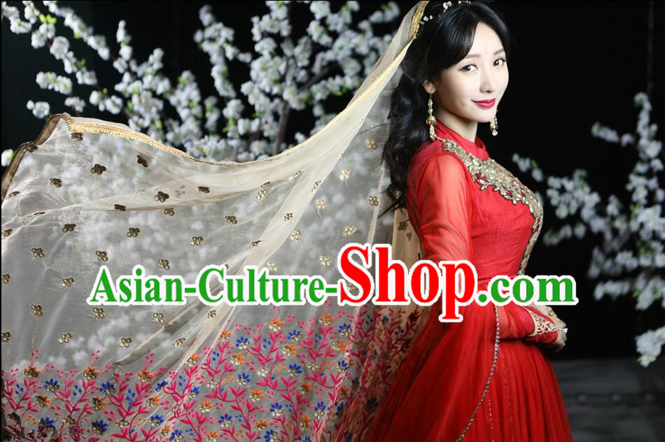 Traditional Indian Classical Folk Dance Dress Clothing Dresses Costume Classic Dancing Cultural Dances Belly Dance Costumes for Women