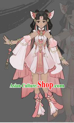 Chinese Cos Fairy Costume Garment for Girl Dress Costumes Dress Adults Cosplay Japanese Korean Asian King Clothing