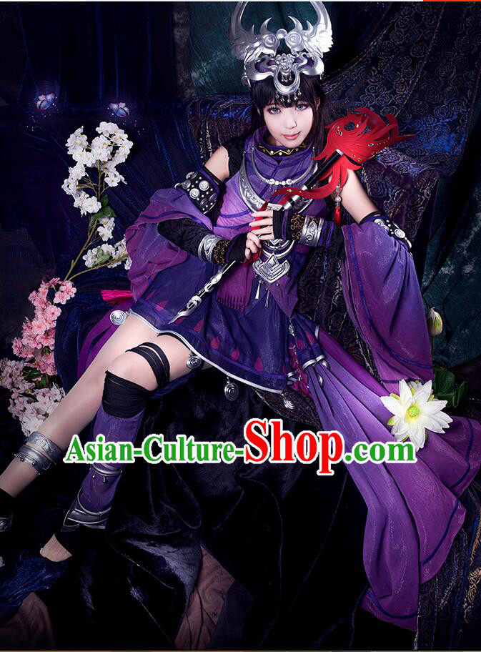 Chinese COSPLAY for Women Fairy Costume Garment Chinese Tradtional Dress Costumes Dress Adults Cos Asian King Clothing