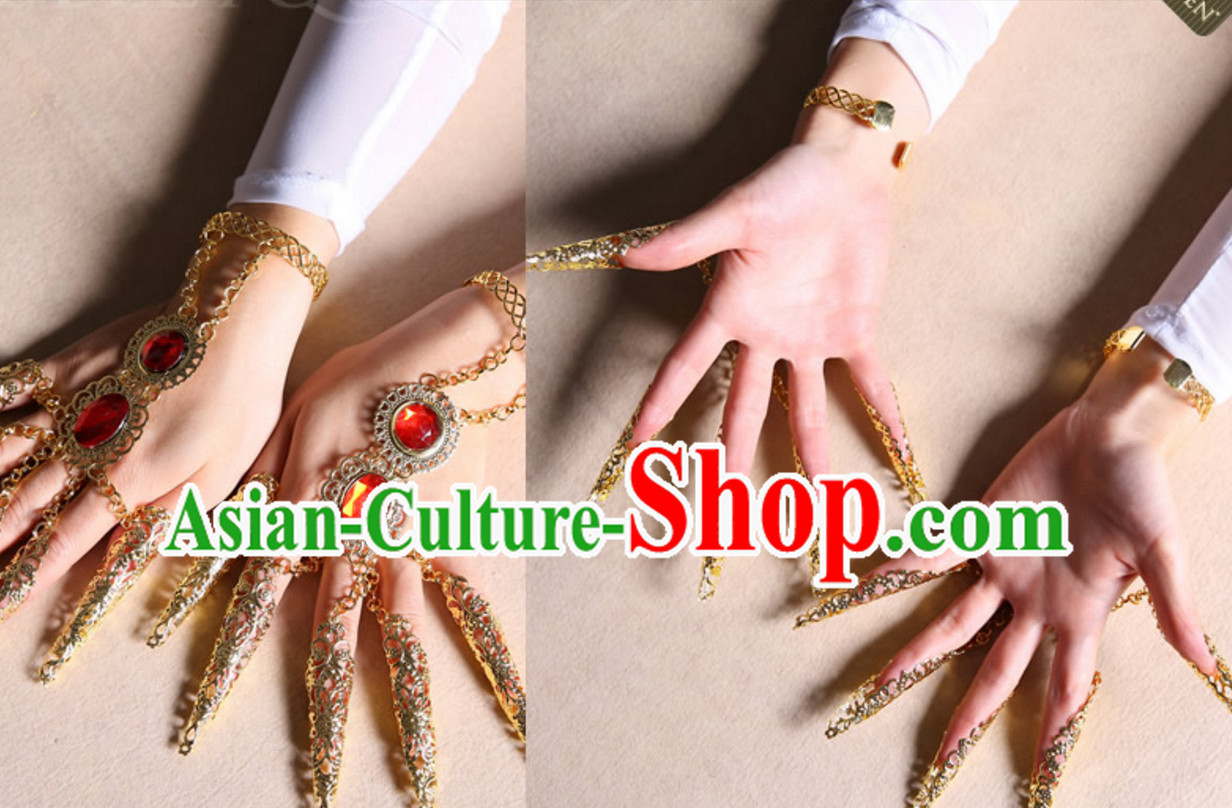 Chinese Classical Dance Finger Nails Accessories