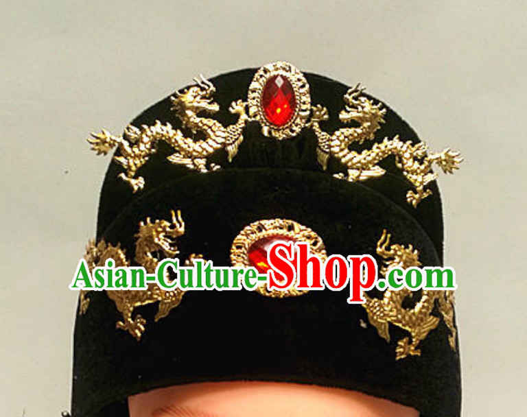 Ming Dynasty Black Hat for Men