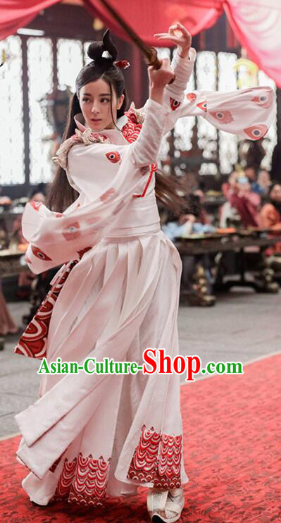 Traditional Chinese Ancient Palace Lady Embroidered Costume, China The King Woman Qin Dynasty Empress Dress Clothing