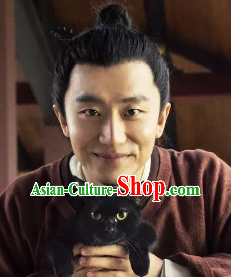 Ancient Chinese Tang Dynasty Wigs for Men