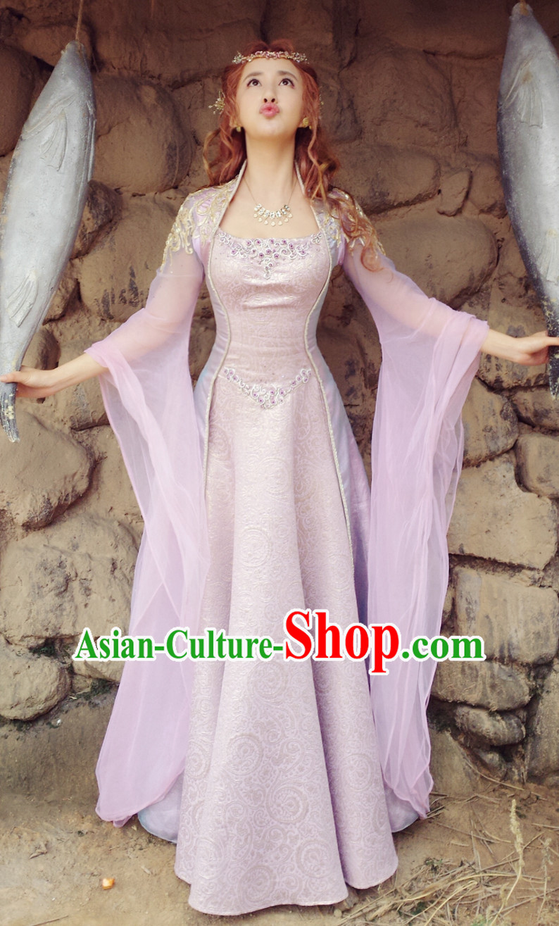 Fantasy Drama Princess Hanfu Costumes Complete Set for Women