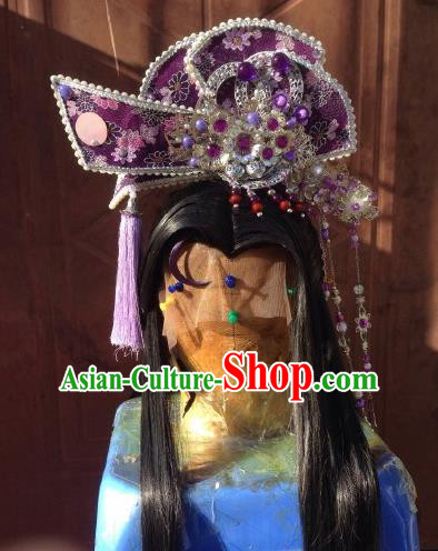 Chinese Traditional Ancient Princess Hair Accessories Handmade Hairpins Complete Set for Women
