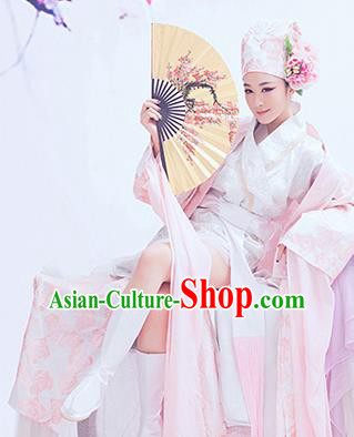 Traditional Ancient Chinese Scholar Costume, Elegant Hanfu Clothing Chinese Han Dynasty Scholar Clothing for Men