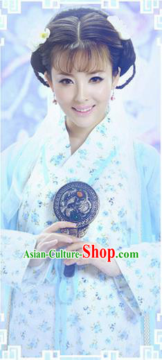 Traditional Ancient Chinese Costume, Costumes Elegant Hanfu Clothing Chinese Han Dynasty Imperial Emperess Clothing for Women