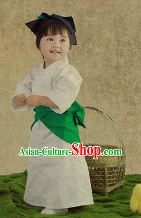 Traditional Chinese Ancient Costumes Ancient Chinese Children Student Girl Dress Hanfu Costume for Kids