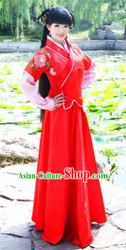 Traditional Ancient Chinese Ming Dynasty Swordsman Costumes Hanfu Clothing for Men