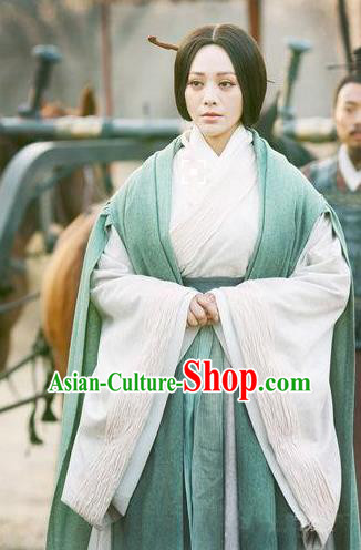 Traditional Ancient Chinese Imperial Consort Costume, Elegant Hanfu Dress Chinese Qin Dynasty Imperial Empress Elegant Clothing for Women