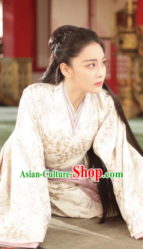 Traditional Ancient Chinese Imperial Consort Costume, Elegant Hanfu Palace Lady Dress Clothing, Chinese Warring States Period Imperial Princess Clothing for Women