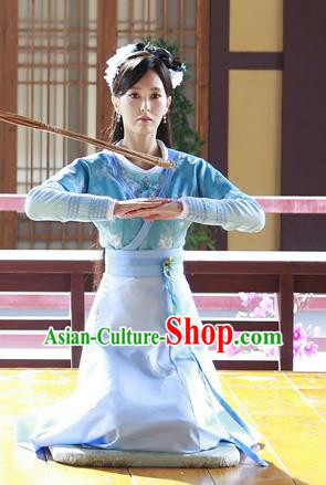 Traditional Ancient Chinese Imperial Lady Costume Complete Set, Chinese Han Dynasty Young Lady Dress, Cosplay Chinese Imperial Princess Clothing for Women