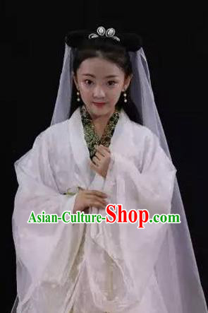 Traditional Ancient Chinese Imperial Princess Costume, Chinese Tang Dynasty Children Dress, Cosplay Chinese Peri Clothing for Kids