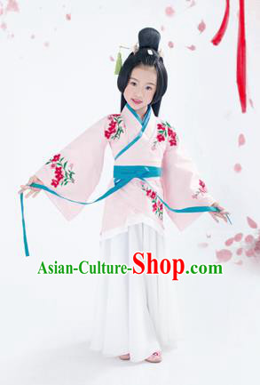 Traditional Ancient Chinese Imperial Princess Costume, Chinese Han Dynasty Children Dress, Cosplay Chinese Peri Clothing for Kids