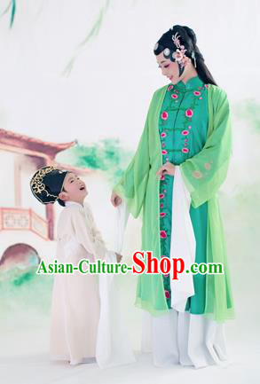 Traditional Ancient Chinese Peking Opera Costume, Chinese Palace Consort Dress, Cosplay Chinese Imperial Consort Embroidered Clothing for Women