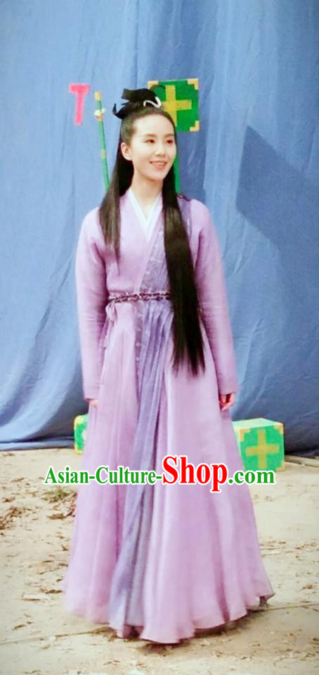 Traditional Ancient Chinese Imperial Princess Costume, Elegant Hanfu Western Wei Dynasty Swordsman Clothing, Chinese Northern Dynasties Young Lady Tailing Clothing for Women