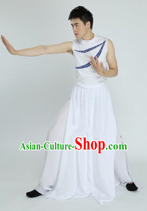 Modern Dancing Compere Costume, Male Opening Classic Dance Clothing, Modern Dance Classic Latin Dance Dress for Men