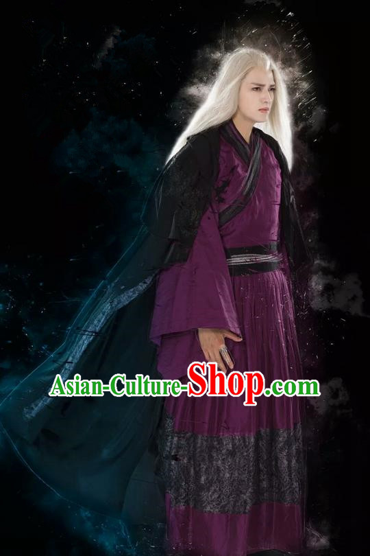 Traditional Chinese Ancient Imperial Guards Costume and Headpiece Complete Set, China Ming Dynasty Secret Service Suit Nobility Childe Clothing for Men