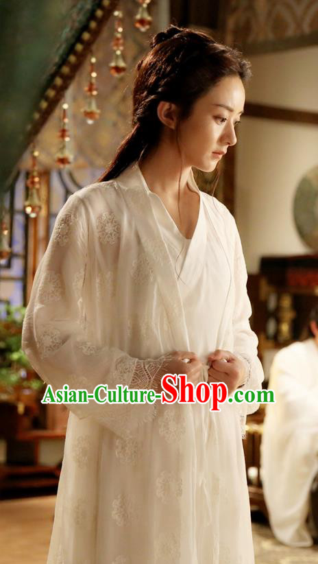 Traditional Ancient Chinese Northern and Southern Dynasties Maidservant Costume, Princess Agents Northern Wei Dynasty Swordswoman Clothing and Headpiece Complete Set