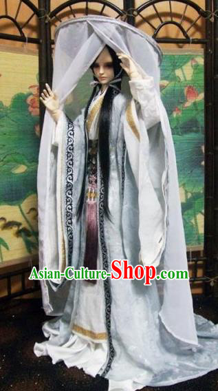 Traditional Ancient Swordsman Costumes Complete Set, China Ancient Cosplay Prince Outfit for Men for Kids