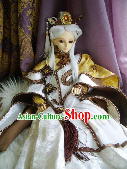 Traditional Ancient Swordsman Costumes Complete Set, China Ancient Cosplay Royal Highness Clothing Outfit for Men for Kids