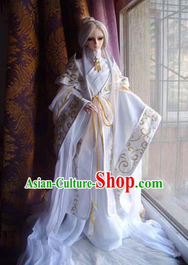Traditional Ancient Royal Highness Costumes Complete Set, China Ancient Cosplay Swordsman Clothing Chivalrous Expert Outfit for Men for Kids