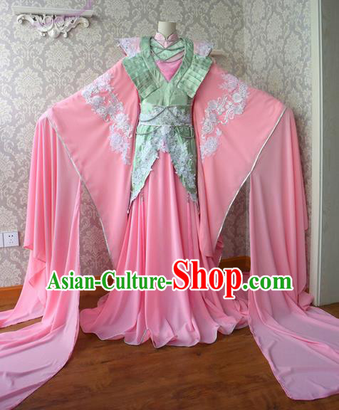 Top Grade Traditional China Ancient Princess Costumes, China Ancient Cosplay Tang Dynasty Imperial Concubine Dress Clothing for Women