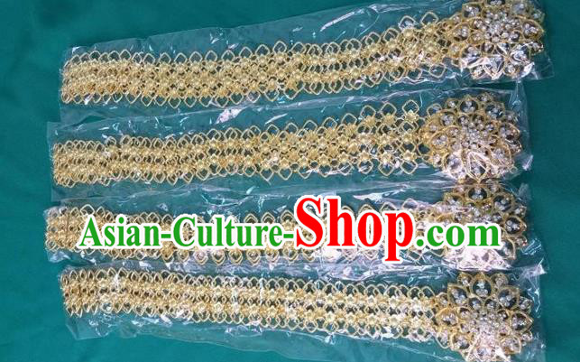 Traditional Traditional Thailand Accessories Belts, Southeast Asia Thai Dai Nationality Waistband for Men