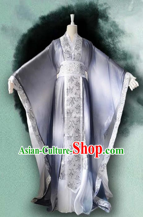 Traditional Chinese Cosplay Nobility Childe Costume, Chinese Ancient Hanfu Song Dynasty Royal Highness Dress Clothing for Men