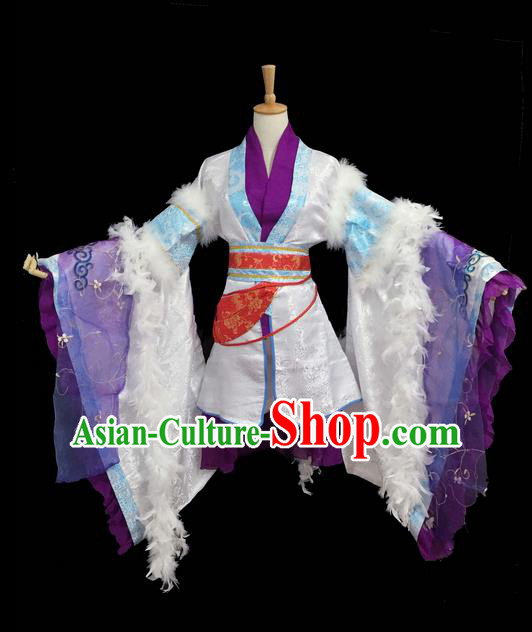 Traditional Chinese Tang Dynasty Young Men Embroidery Costume, Elegant Hanfu Clothing Chinese Ancient Prince Robe for Men